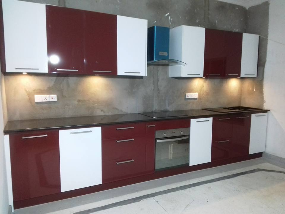 Aluminium Pantry Cupboards - DT - Enterprises   Steel